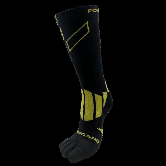 Long Cut Wool Hiking Toe Socks